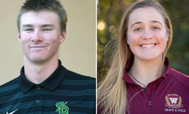 Athletes of the Week: Derek True and Sydney Marr