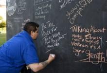 Mental Health Awareness Movie '55 Steps' Shown in Sunken Gardens