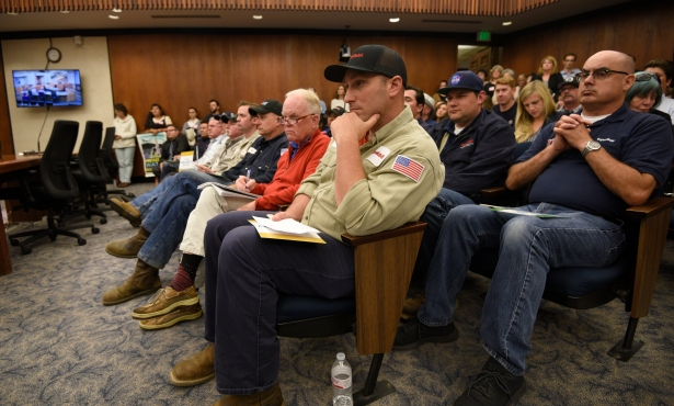 (Most) Everyone Behaves During Packed Exxon Trucking Hearing