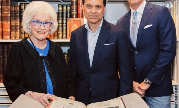Arts & Lectures Donors Dine with Fareed Zakaria