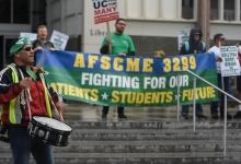 UC Workers Strike Unfair Labor Practices