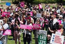 Santa Barbara Rallies to Protect Legal Abortion