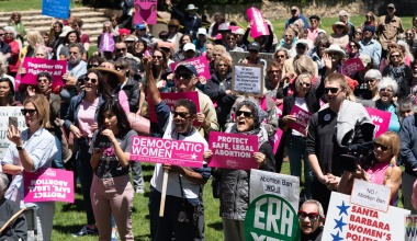 Santa Barbara Rallies to Protect Legal Abortion