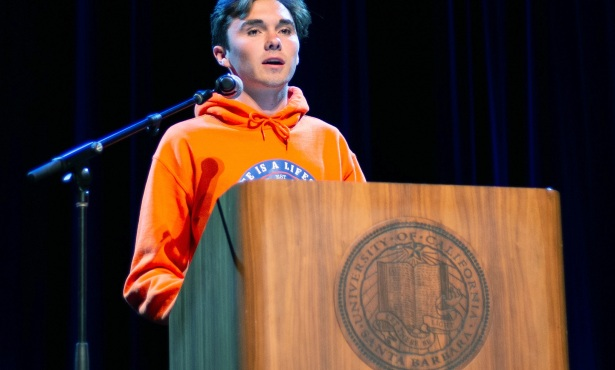 Parkland Survivor David Hogg Comes to UCSB