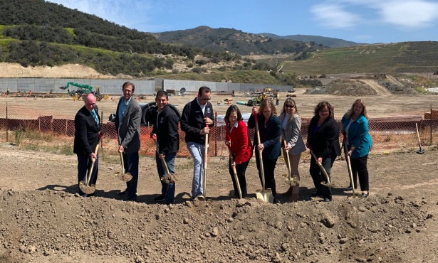 Tajiguas ReSource Center Breaks Ground