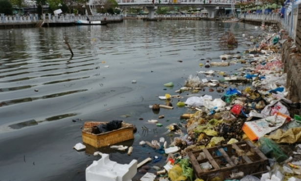 New Program Targets Down-River Plastic Waste