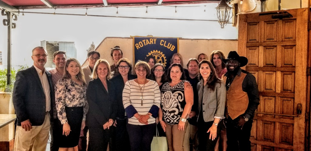 Rotary Club of Montecito  Helps Teacher's Fund