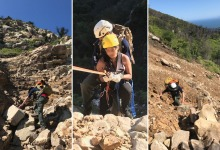 Hikers Rescued from Tangerine Falls