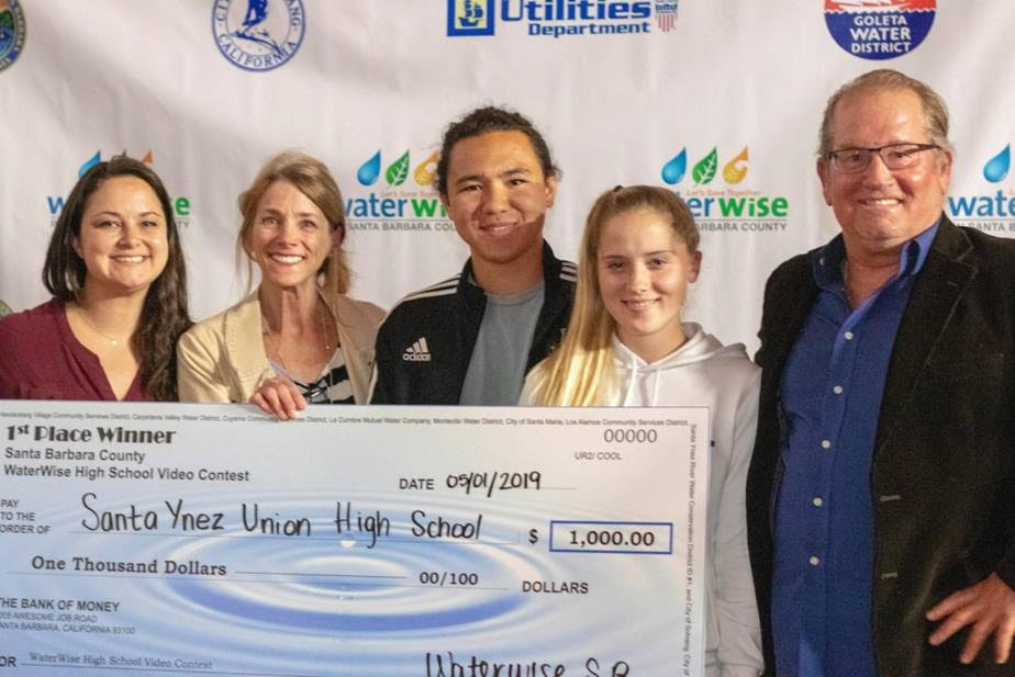 Santa Ynez Valley Union High School Wins the 20th Annual Santa Barbara County WaterWise High School Video Contest