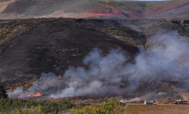 Fire Out at Vandenberg Air Force Base