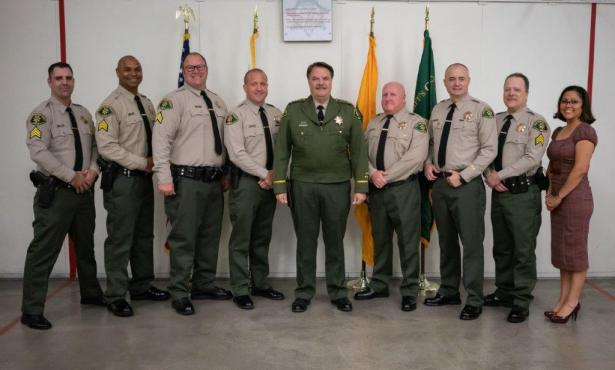 The Sheriff's Office Celebrates Eight Promotions