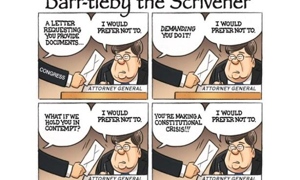 Impeach Attorney General Barr