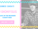 DJ Party in the Brander Courtyard with DJ Dionysus!