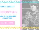 DJ Party in the Brander Courtyard with DJ Dionysus!