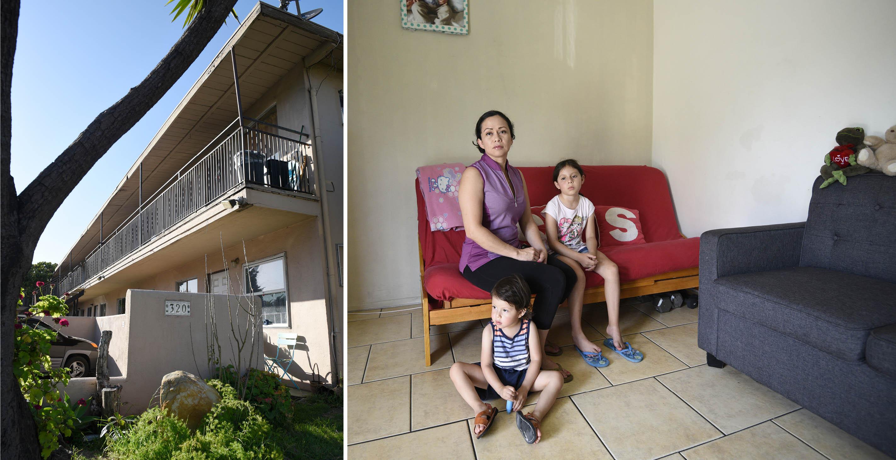 Evictions Begin at Pini Properties - The Santa Barbara