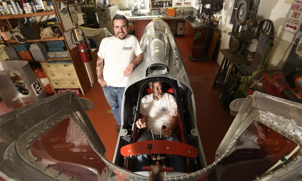 Santa Barbara Racers Chase 423 MPH Land Speed Record