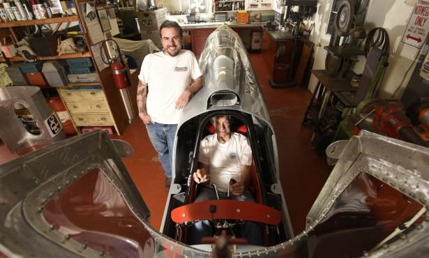 Santa Barbara Racers Chase 423 MPH Land Speed Record