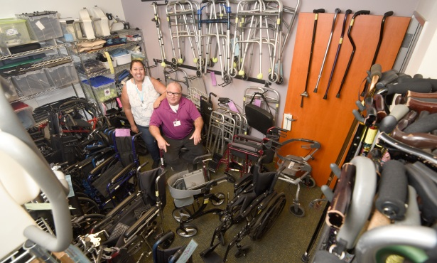 Loan Closet Offers Crutches, Wheelchairs, Etc. For Free