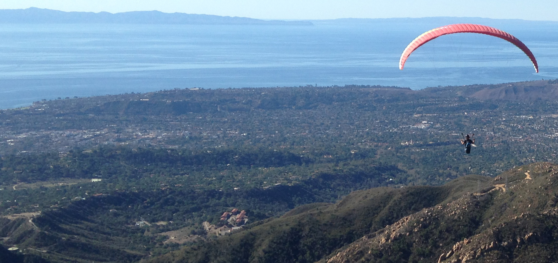 Eagle Paragliding Tandems and Lessons - The Santa Barbara
