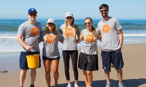 SBAOR® Young Professionals Network Cleans Up