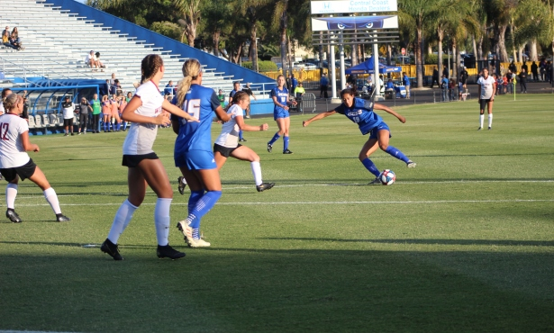 UCSB Women's Soccer Outlasts Westmont in 2-0 Victory
