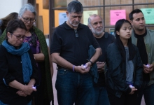 Vigil Held for Victims of Gilroy, El Paso, and Dayton Shootings