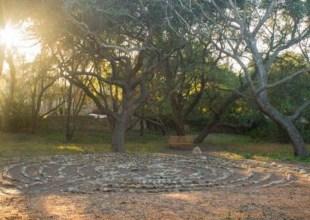 Santa Barbara Retreat Centers Are Finite Infinities