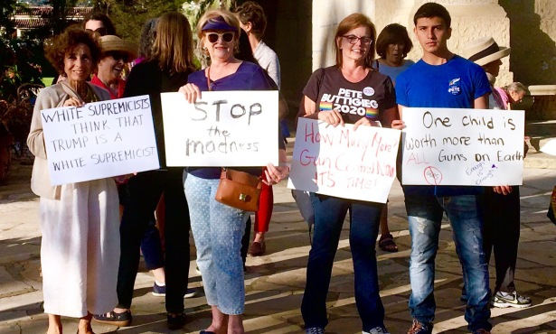 Protesters Stand Against Gun Violence