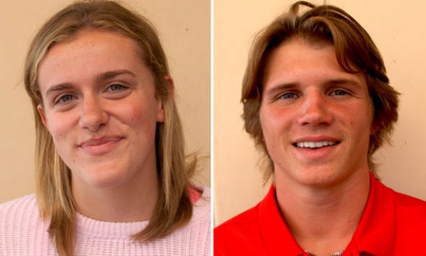 Athletes of the Week: Macy Christal and Josh Brown