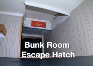 'Conception' Safety Video Shows Tight Quarters of Bunk Room, Escape Hatch