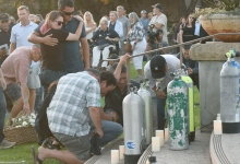 34 Divers Mourned in 'Conception' Ceremony