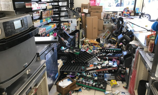 Man Arrested for Trashing Goleta 7-Eleven