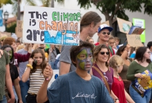 Climate Strikers Urge Political Action