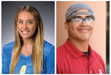 Athletes of the Week: Matthew Bribiesca and Lindsey Ruddins