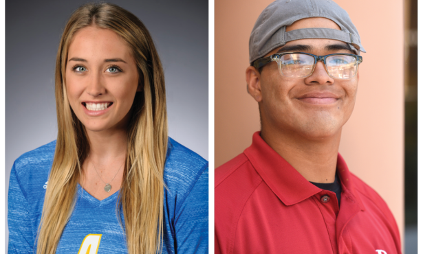 Athletes of the Week: Matthew Bribiesca and Lindsey Ruddins