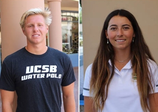 Athletes of the Week: Cole Brosnan and Melia Haller