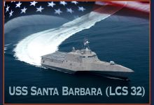 Construction Begins on USS 'Santa Barbara'