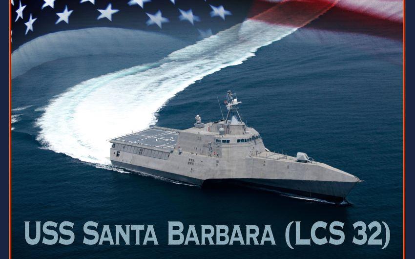 Construction Begins on USS 'Santa Barbara'