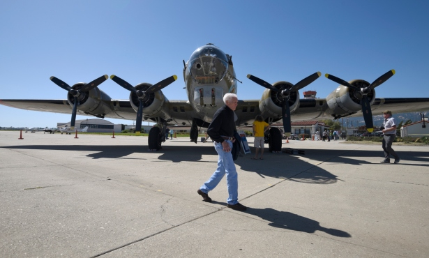 Flying Fortress Recently in Santa Barbara Crashes in Connecticut