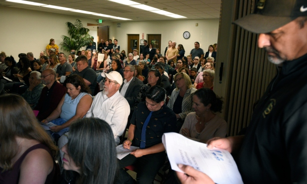 Outraged Residents Contest Alisos Street Homeless Housing Project