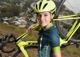 Hannah Jordan Goes from Deathbed to Cycling Star