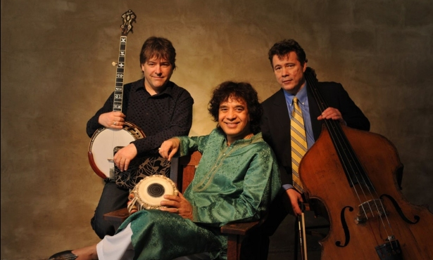 Béla Fleck, Zakir Hussain, and Edgar Meyer Live