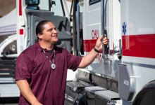Chumash Donate Fire Truck to Fellow Tribe