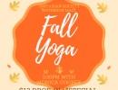 Restorative (*VInyasa) Yoga