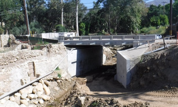Montecito Creek Bridge Due to Open in December