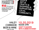 Haley Corridor Beer & Wine Crawl + Makers Market!