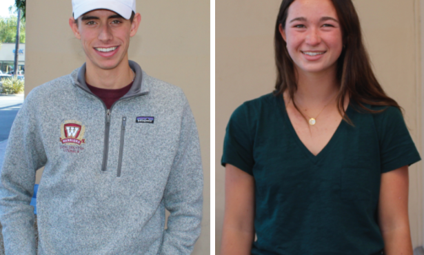 Athletes of the Week: Michael Oldach and Heidi Hatton
