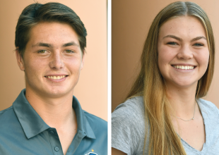 Athletes of the Week: Ben Roach and Taylor Wilson