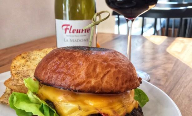 Burgers & Beaujolais @ Café Ana