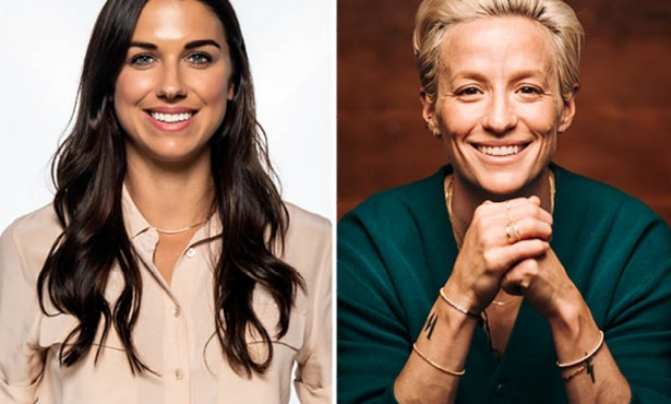 Alex Morgan and Megan Rapinoe's Goals Beyond the Goal